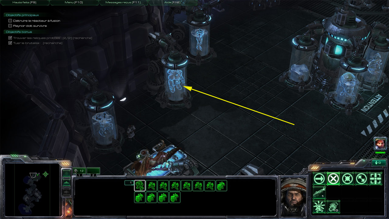 Easter Eggs dans StarCraft II.