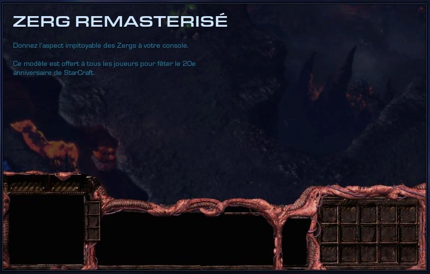 4.2.1 : Modèles d'interface 20 ans StarCraft