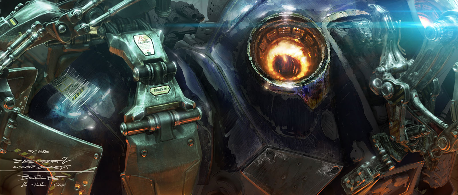 Artwork de Starcraft 2.