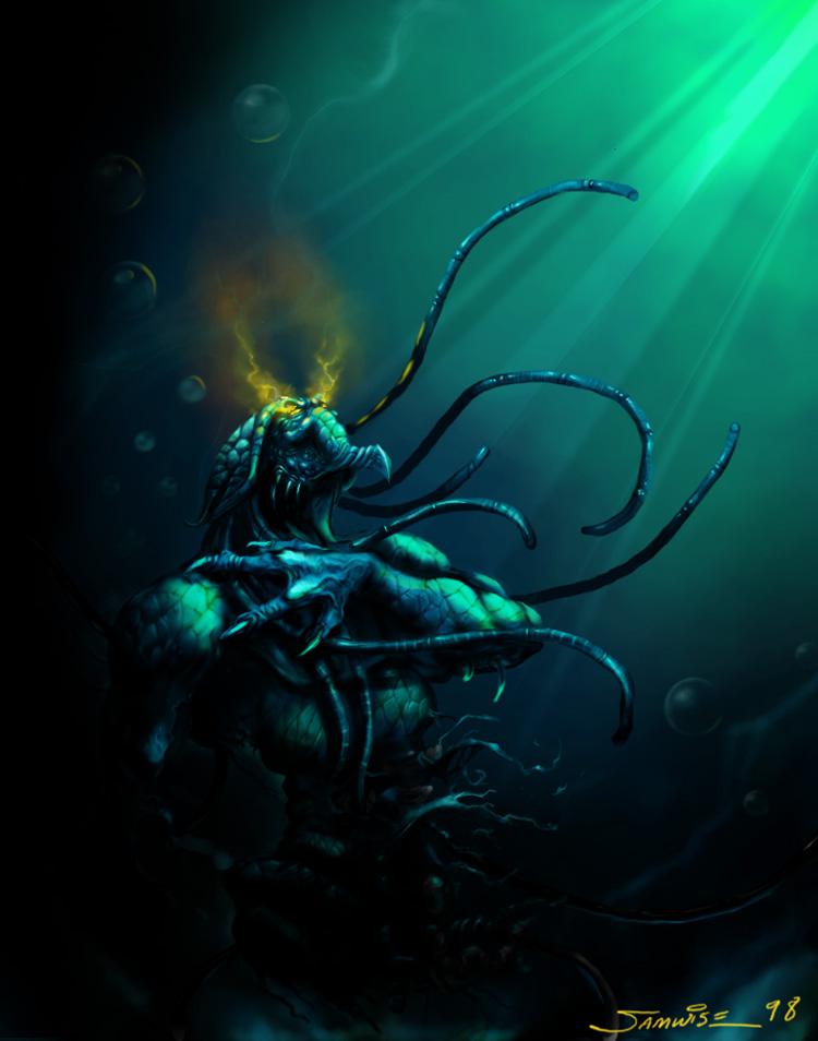 Concept Art StarCraft.