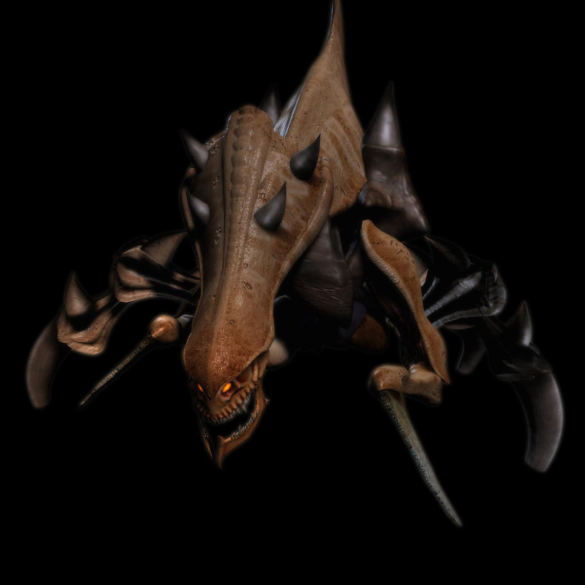 Concept Art de StarCraft II.