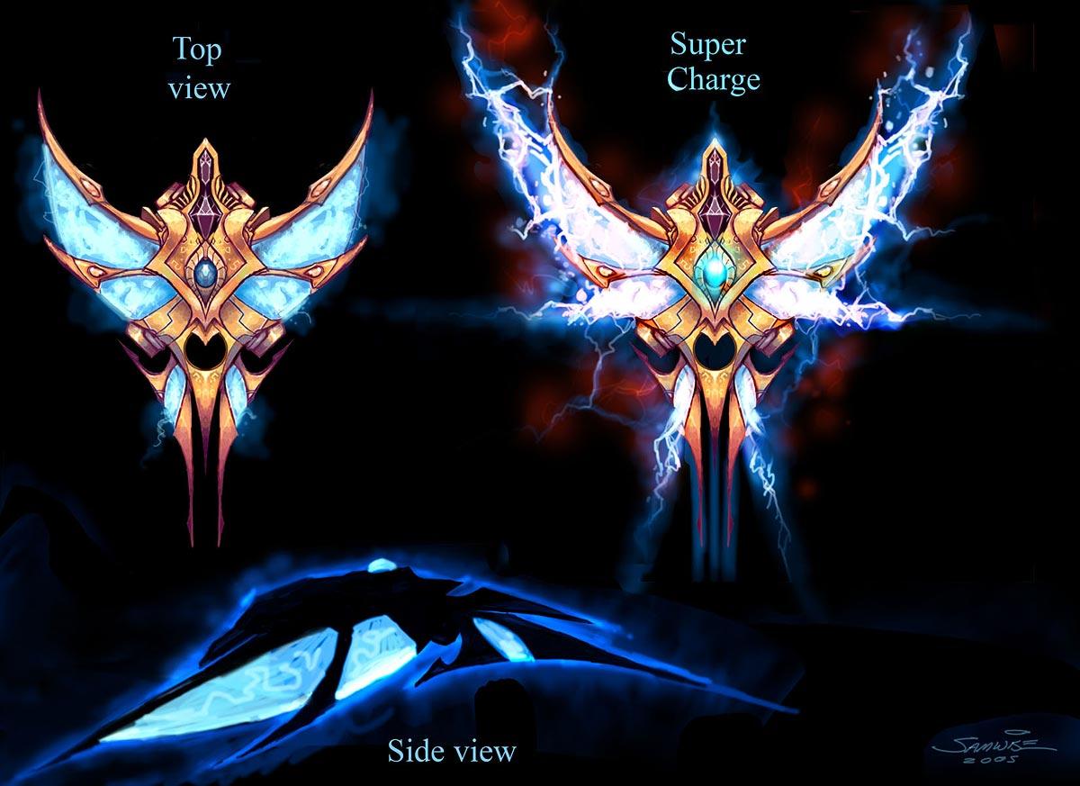 Concept Art StarCraft II.