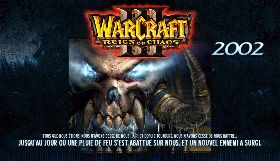 Image de la page d'accueil de Blizzard, le 17 mai 2007.
