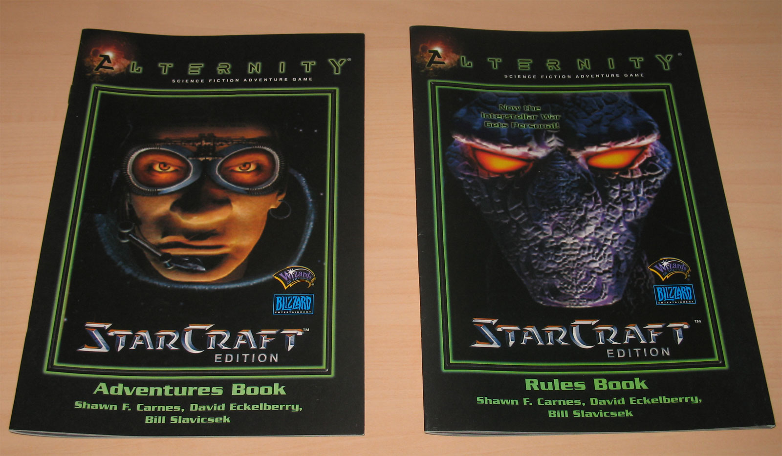 Jeu de rôles sur table Starcraft sorti en 2000 et édité par Wizards of the coast.