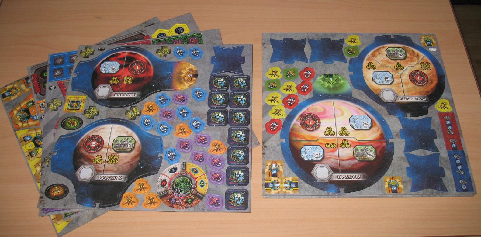 Le jeu de plateau StarCraft édité par Fantasy Flight Games.