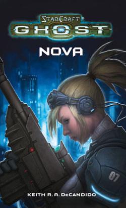 Couverture du roman StarCraft Ghost: Nova.