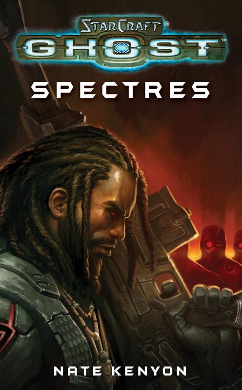 Couverture du roman StarCraft Ghost: Spectres écrit par Nate Kanyon.