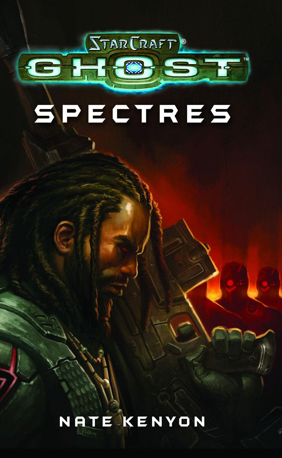 Couverture du roman StarCraft Ghost: Spectres.