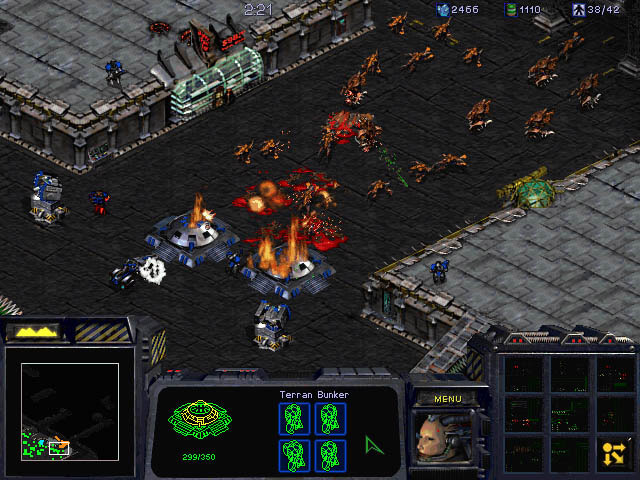 Screenshot de Starcraft 1.
