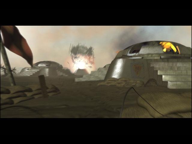 Screenshot d'une cinématique Starcraft Brood War.