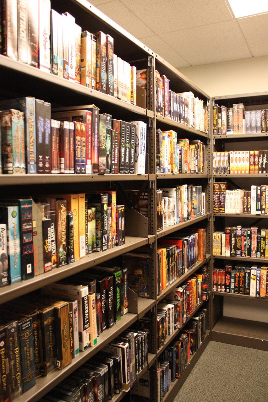 Bibliothèque chez Blizzard, inaugurée le 29 mai 2009.