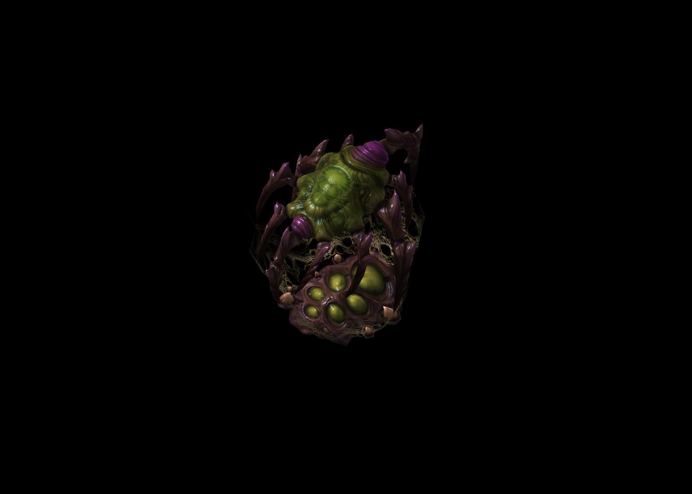 Screenshot de StarCraft II (Baneling Nest).