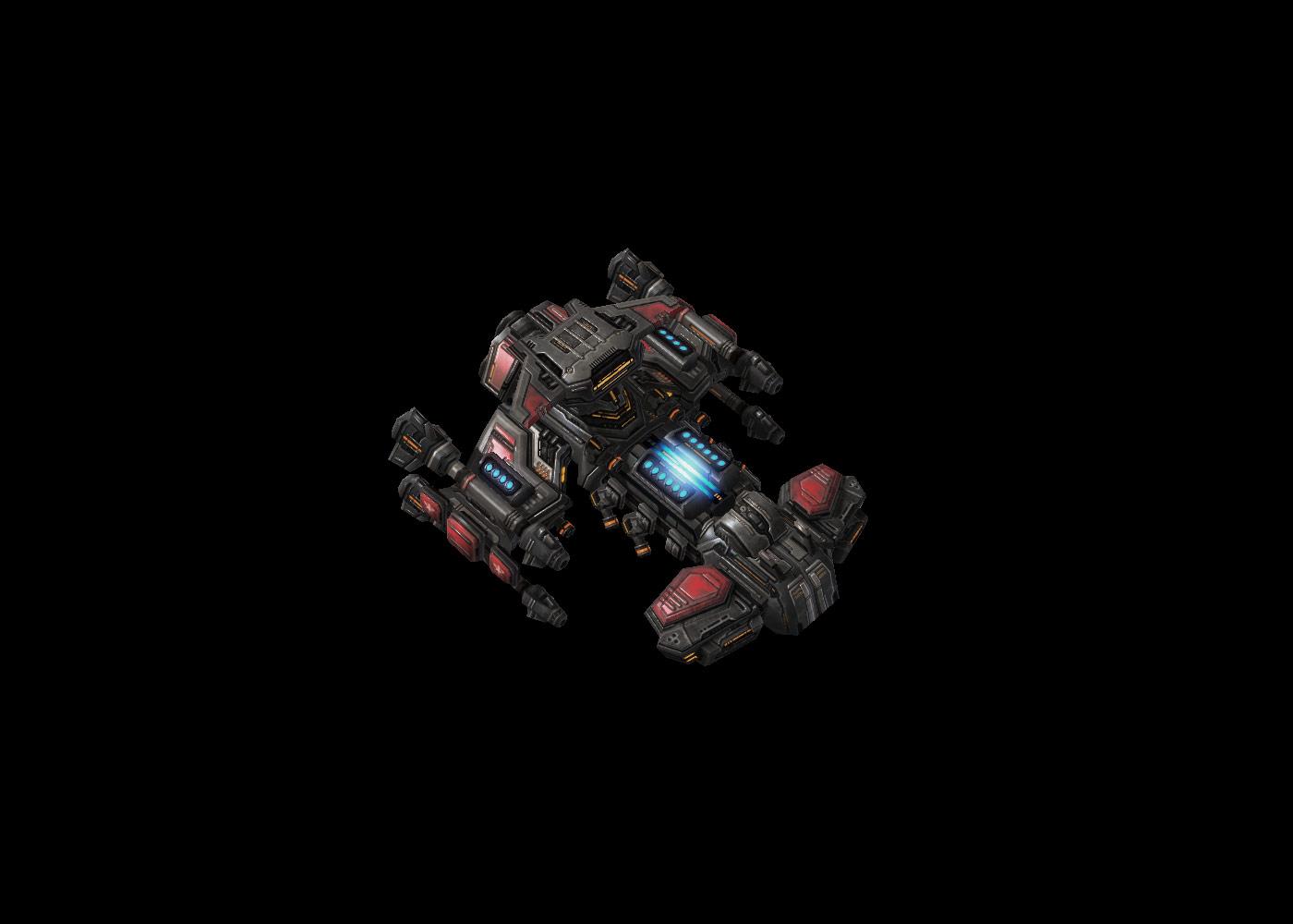 Screenshot de StarCraft II (Battlecruiser Missile Pods).