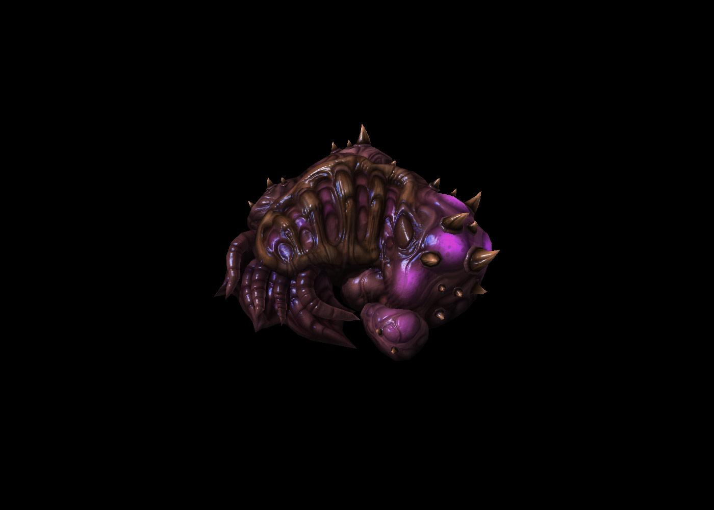 Screenshot de StarCraft II (Evolution Chamber).