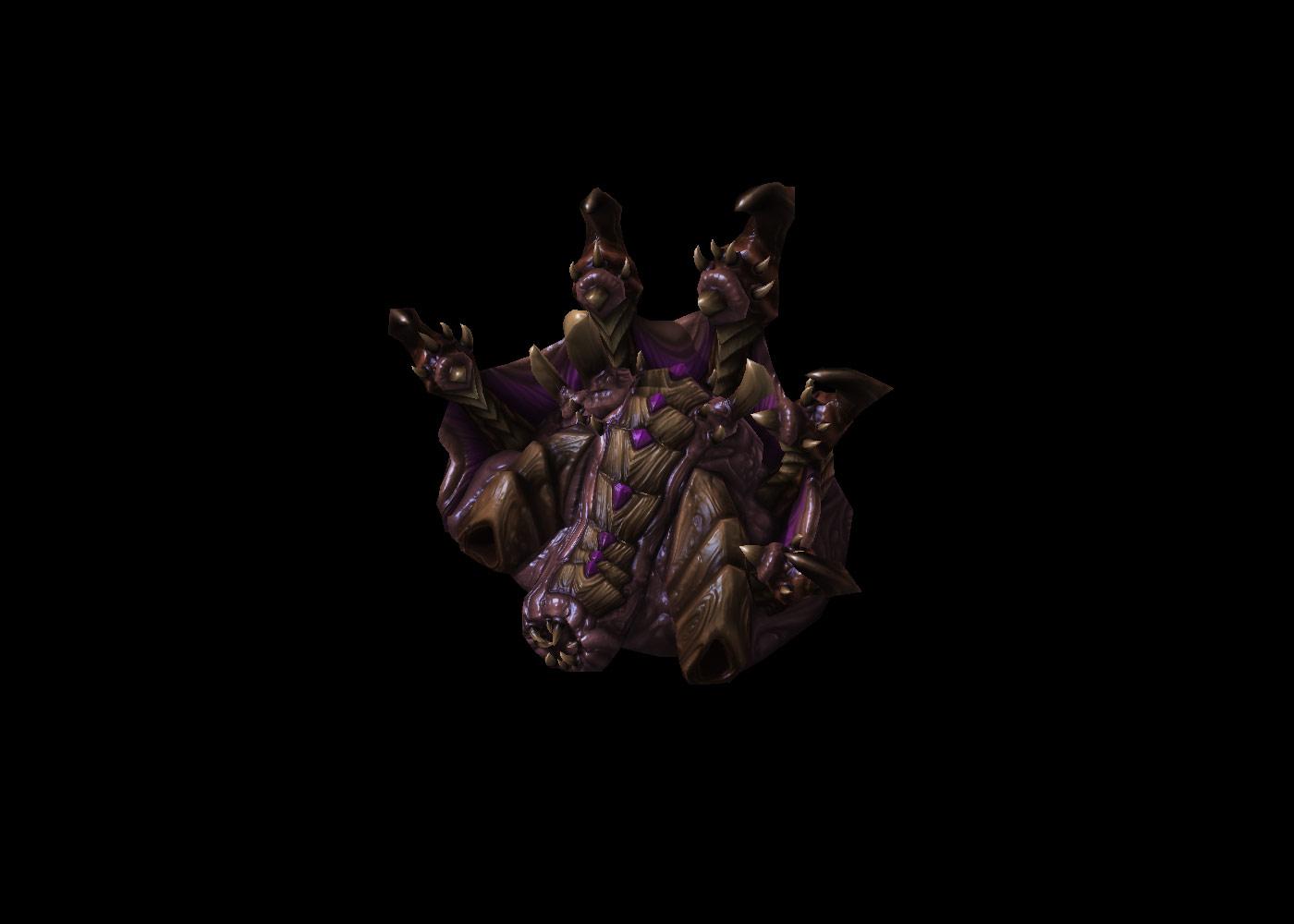 Screenshot de StarCraft II (Hydralisk Den).