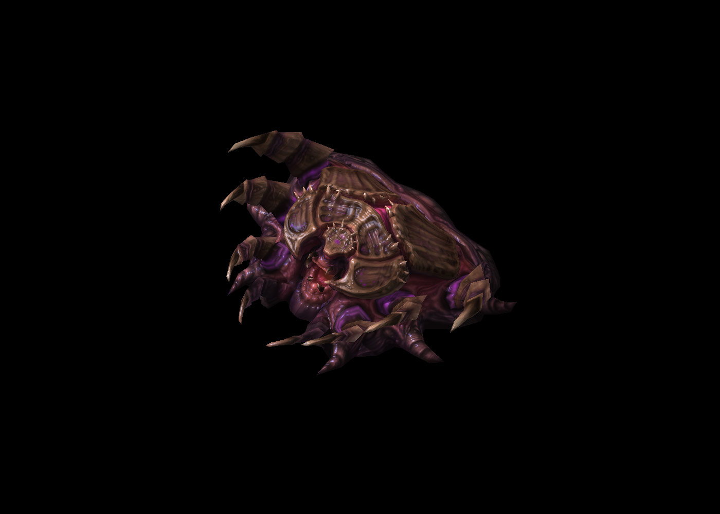 Screenshot de StarCraft II (Infestation Pit).