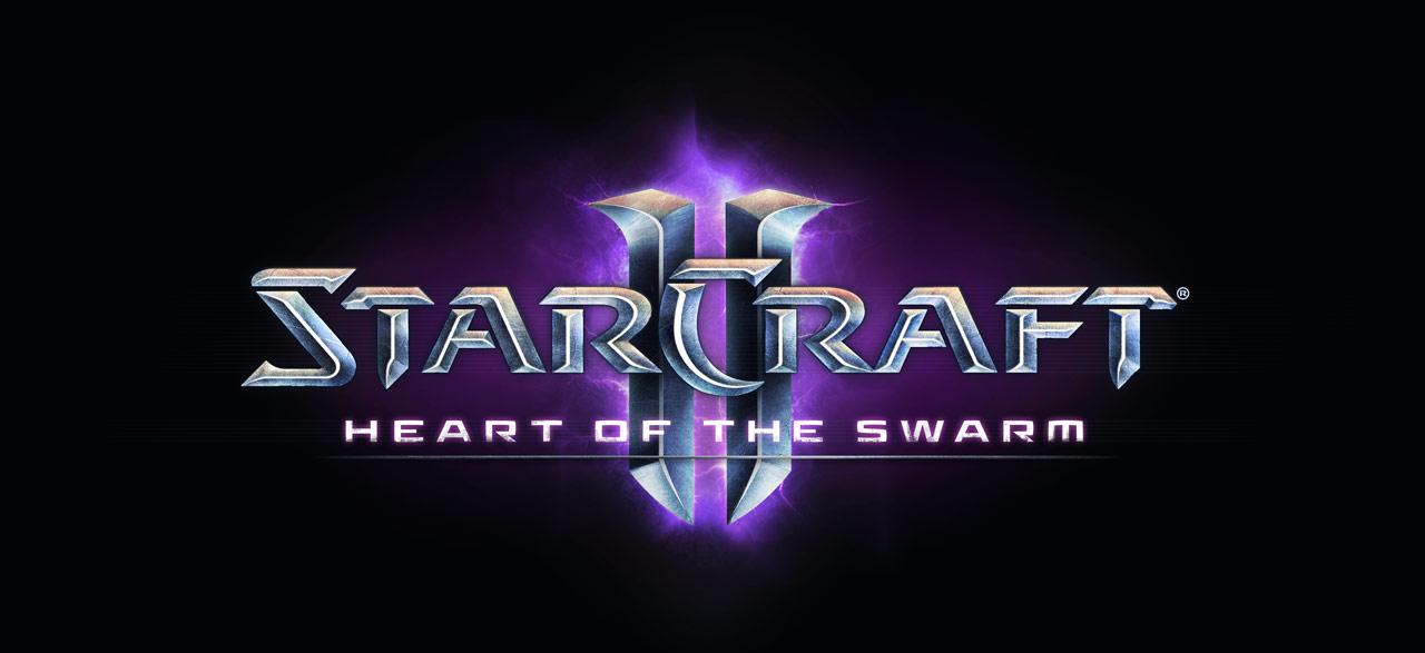 Logo StarCraft II: Heart of the Swarm.